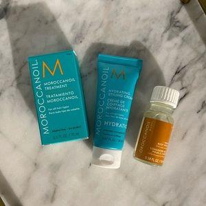 Moroccanoil Treatment, Styling Cream & Body Serum